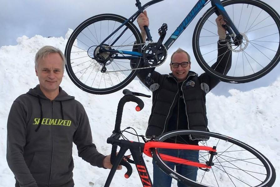 Roland Hedlund och Michael Sjöström
